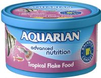 Aquarian 50g Tropical Fish Flake Aquarium Tank